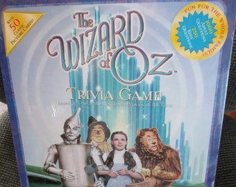 Vintage, unopened Wizard of Oz, Trivia Game -  Still sealed - Estate find