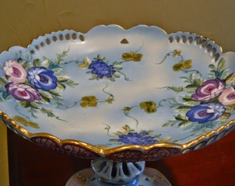 Antique Limoges French Compote Bowl