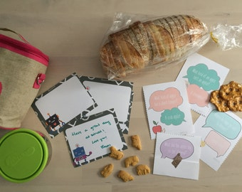 MAKE MEMORIES with these Printable Lunchbox Notes & Jokes
