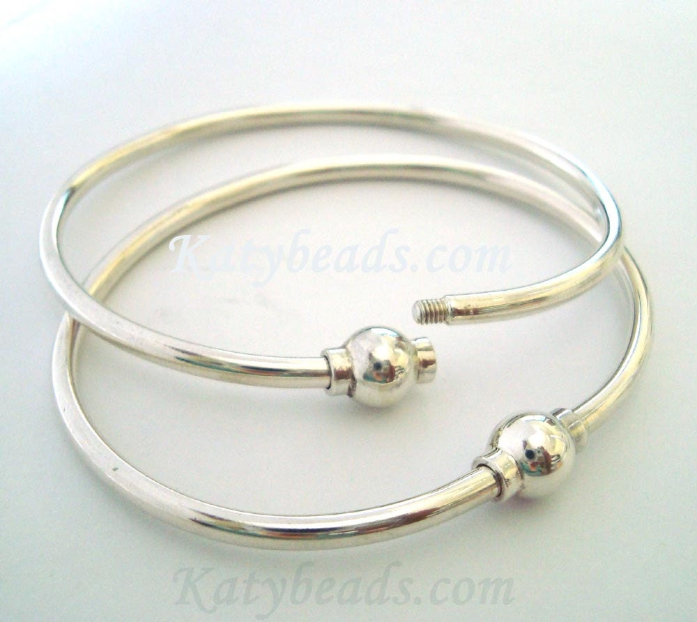 secret linked supa silver sterling personalised plain bangle bangles silversynergy massive