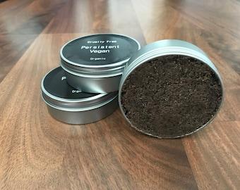 Organic Sugar Scrub |VEGAN| -Mocha- Raw Cane Sugar, Ground Coffee Beans, Cocoa Butter