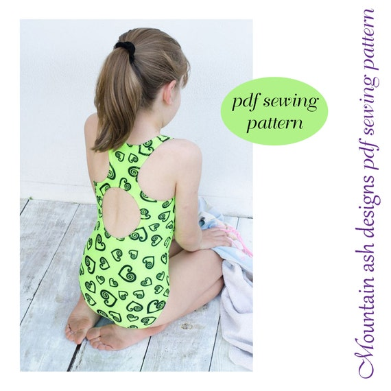 Laura swimsuit sewing pattern racer back swimsuit and leotards voltagebd Image collections