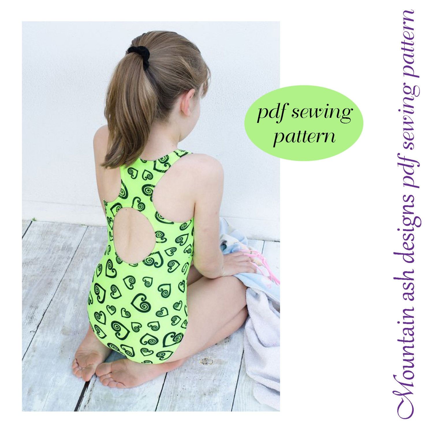 Laura swimsuit sewing pattern racer back swimsuit and leotards zoom jeuxipadfo Gallery