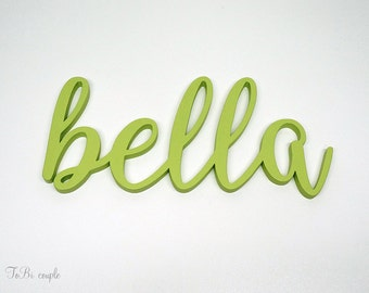 Wooden name or word, home decor, wall decor