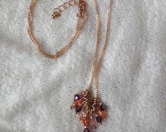 Swarovski and Czech Beads Necklace
