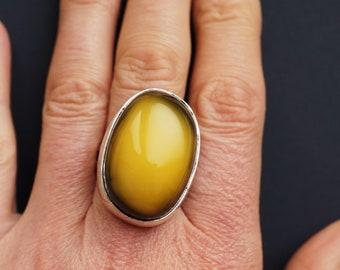 16.3g. Baltic Amber Ring