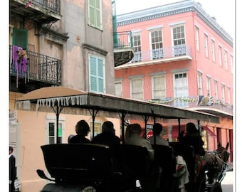 French Quarter Carriage Ride Photograph - New Orleans