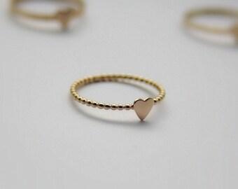 Christmas Jewelry- Christmas present- anniversary present- Christmas Ring- Handmade Holidays Gift - Stacking Ring