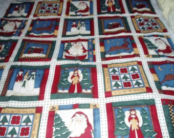 Christmas Panels/One yard Plus