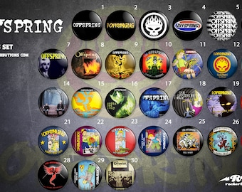 Veneers Collection The offspring//The Offspring button collection