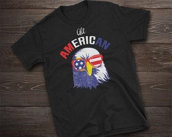 Eagle, Flag, American Flag, Patriotic, USA, Fourth of July, 4th of July, Fourth of July Shirt, 4th of July Shirt, July 4th, America