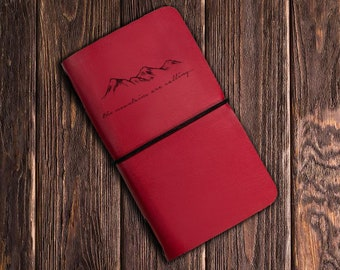 Petite montagne - cahier Journal - les montagnes sont appel - cadeau - cadeau de graduation - cadeau ADO - sketchboo - carnet de voyage