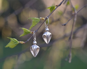 Sterling Silver Seed Earrings