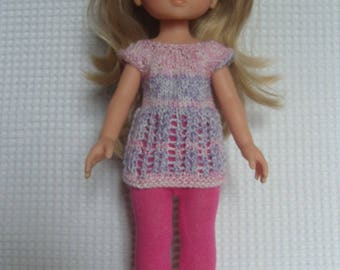 The sweethearts doll, leggings and tunic dress