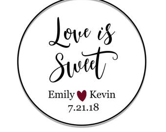 Custom Favor Stickers | Thank You Label Stickers | Wedding Favor Stickers | Wedding Stickers | Thank You Stickers | Cookie Label Stickers