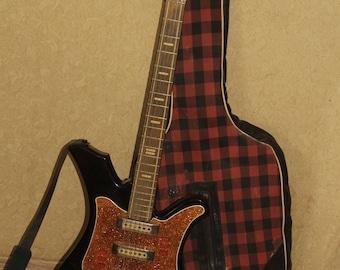 AELITA Electric Guitar Soviet Vintage made in USSR Musical instrument