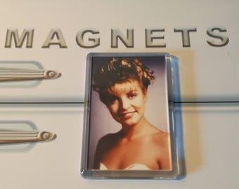 Twin Peaks Fridge Magnet. Laura Palmer Prom Photo