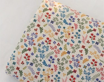 100% Cotton Fabrics by the yard Sewing Supplies - Flower Season CG0180 (B001716)