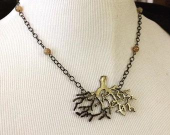 Nemeton Necklace Inspired by Teen Wolf