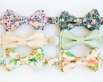 Bow Tie, Mens Bow Tie, Bowtie, Bowties, Bow Ties, Groomsmen Bow Ties, Wedding Bowties, Ties, Rifle Paper Co - Menagerie Collection