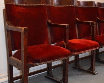 Salvaged Vintage Cinema / Theatre Seats