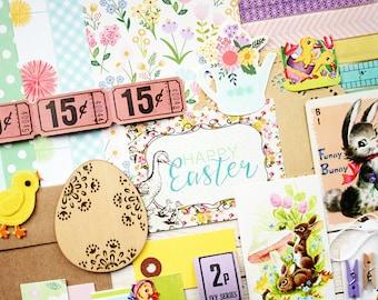 Easter/Spring Ephemera - DIY Papercrafting Kit