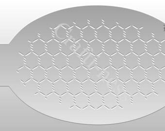 Crafti-Ness #108 Pattern Chicken Wire Stencil