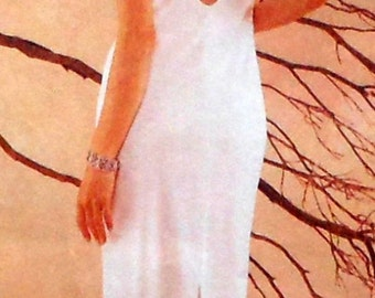 Gown Sewing Pattern UNCUT McCalls 9129 Sizes 8-12