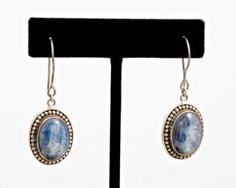 Kyanite 229 - Earrings - Sterling Silver & Kyanite