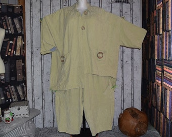 Plus size US 18 - 24 , UK 20 - 26 - LaBass pant suit, layering look, Vintage