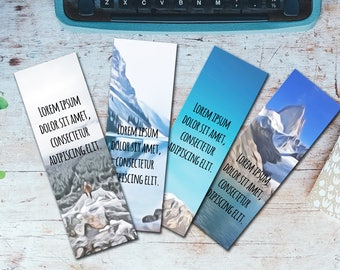 bookworm bookmark template - printable bookmarks etsy
