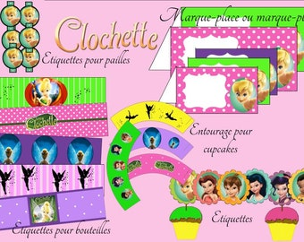 Tinker Bell, Printable, party, decoration