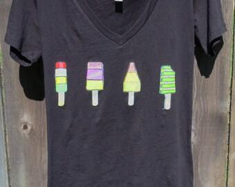 Woman's Popsicles T-shirt