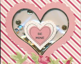 "107 ""Be Mine"" Valentine Card"