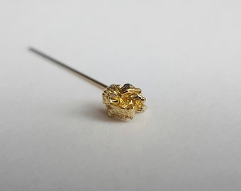 Organic Gold Brooch