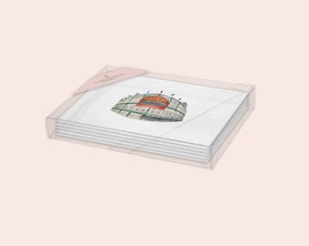 Chicago Greeting Card Pack - 4 cards per set - Windy City Cards