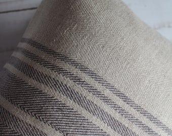 natural linen pillowcase, decorative covers,  pillow case, shams, cushion cover, herringborne pattern