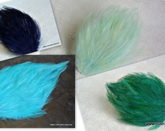 Choose Color - Feather Fascinator Base - Teardrop Feather Pad