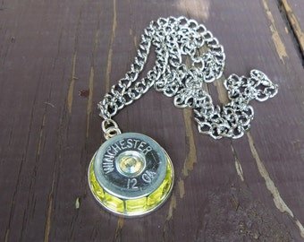 winchester 12g necklace