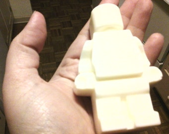 everything is awesome - huge  brickman soap