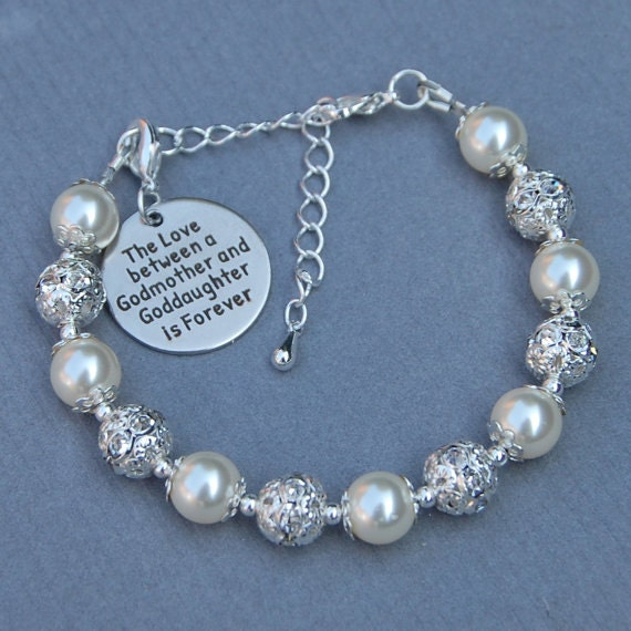 between bracelet the gift ensianth gifts a baptism goddaughter dp and communion love godmother