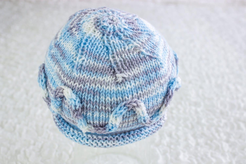 FREE KNITTING PATTERN, Simple Newborn Beanie, Newborn Hat , 0-3 ...