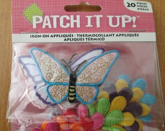 REDUCED: Patch It Up Iron-On Patches - Pack of 20