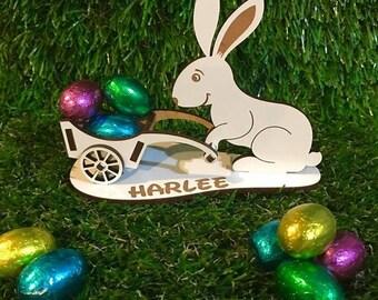 Bunny with Wheelbarrow