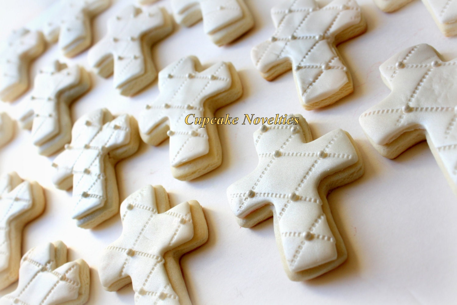 First Holy Communion Christening Cross Cookies Baptism Cookies
