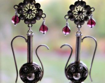 Cannettile Sterling Earrings