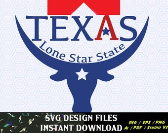 Texas lone star state Car decal, T-Shirt Designs, Cricut Design Space, Silhouette Cameo, Vinyl Cut Ready Decal svg