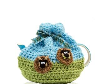 Small Manx Loaghtan Sheep Tea Cosy
