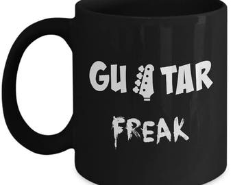 Guitar Player Gift Coffee Mug