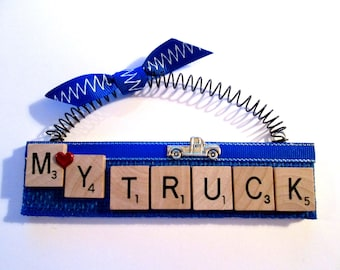 My Truck Scrabble Tile Ornament